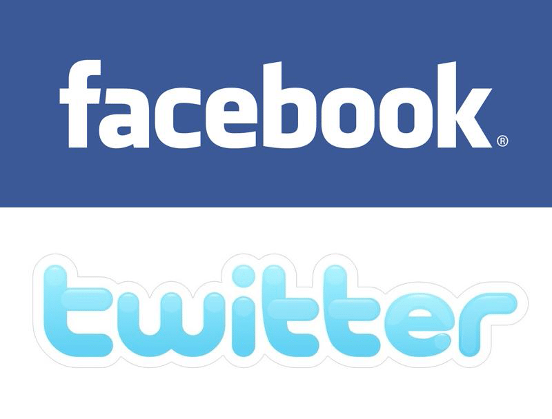 Facebook Logo Twitter Logo Twitter And Facebook Health
