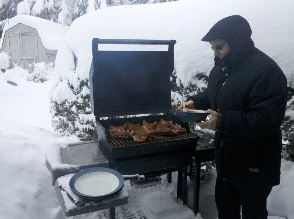 A great winter BBQ grilling tip from Dr. Charschan ...